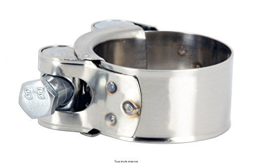 Collier de pot d échappement pour cc de a HC3740 etat Neuf Collier manchon echappement à vis 37 à 40 mm