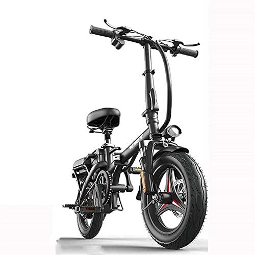 Bicicleta electrica Bicicleta eléctrica plegable portátil y fácil de almacenar en caravana,...