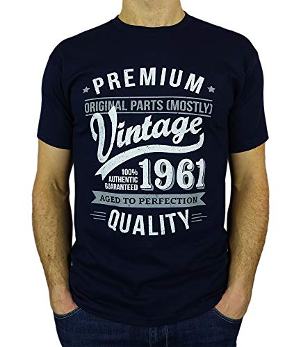 My Generation T-Shirts Vintage Year - Aged to Perfection - 60th Birthday Gift/Present Mens T-Shirt...