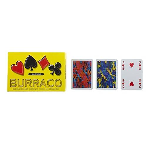 Dal Negro 90064 - Burraco Deluxe Scatola Gialla, Carte da Gioco