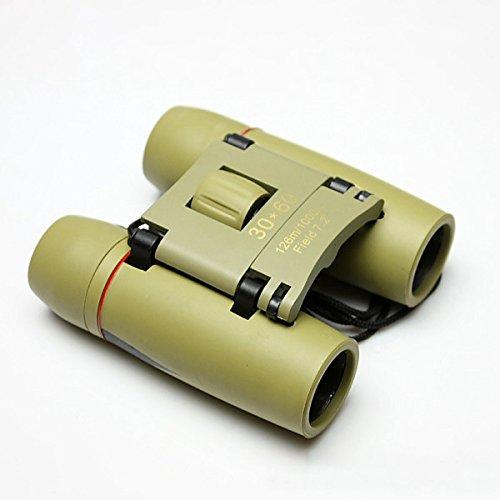 PEG Fernglas 30 x 60 mit Tag- und Nacht-Teleskop Hd Infrarotlicht Nachtsicht Fernglas, Army Grün