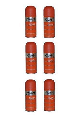 Jovan Musk pour homme Déodorant spray 150 ml – Gamme pour Lot de 6
