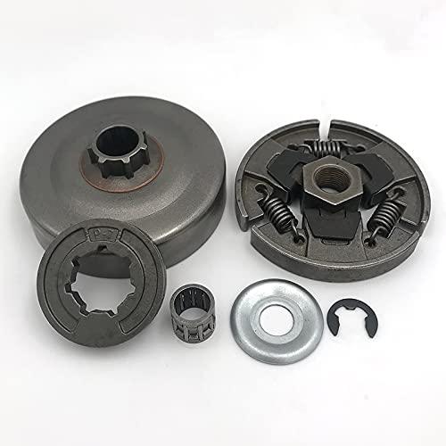 durable Tambor de embrague P-7 Sprocket RIM Rodamiento de la aguja Lavadora E-Clip Fit for Sthil 017 018 021 023 025 MS170 MS180 MS210 MS230 MS250 Motosierra Wearable ( Size : MS180 Clutch P7 set )