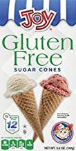 Joy Gluten-Free Sugar Ice Cream Cones, 5 Ounce, 12 Count (1 Box)