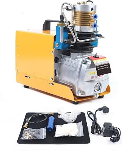 1800W Hochdruck Luft Kompressor Hochdruckluftkompressor Hochdruckluftpumpe Selbstabschaltung Kompressor Luftpump PCP Luftkompressor 30Mpa 2800R / min(Selbstabschaltung)