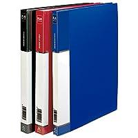 Plus Office mt40/ 180222–フォルダリジッド40ポケット、a4、ブルー