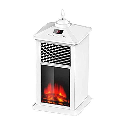 YXIAOL Winterwärmeheizungen - 220V 800W Terrassenheizungen Automatische Außenheizung Mit Konstanter Temperatur Sichere Elektrische Heizung, Überhitzungsschutz, Sicherer Luftauslass,White