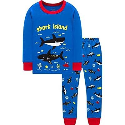 Truck Pajamas for Boys Girls Christmas Sleepwea...