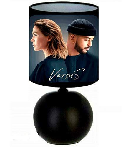 Lampe de chevet Slimane et Vitaa création artisanale.