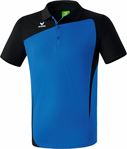 Erima Oberkörper-Bekleidung Club 1900 Poloshirt, Blau (new royal/schwarz), 38 (12 UK)