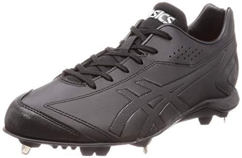 ASICS NEOREVIVE 3 Baseball Metal Spike Shoes, Neolive, Regular (1121A013), Wide (1121A014) - black