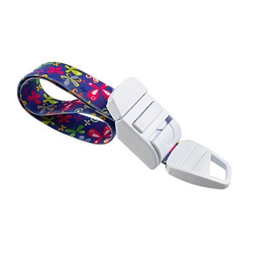 Rolseley Torniquete médico con patrón de mariposa/violeta, hebilla de plástico ABS, banda elástica sin látex, perfecto para médicos, enfermeras, estudiantes y paramédicos
