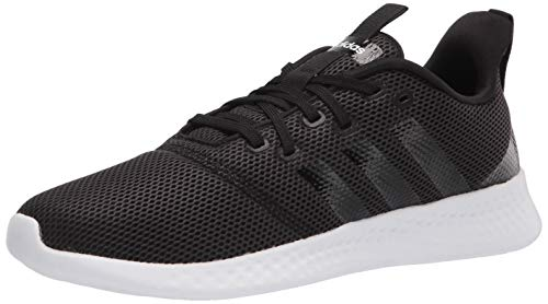 adidas Women's Puremotion Running Shoes, Black/White, 6
