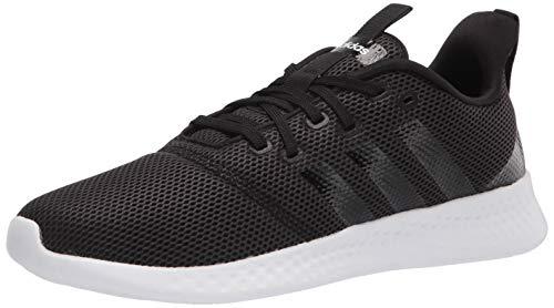 adidas Women's Puremotion Running Shoes, Black/White, 8.5