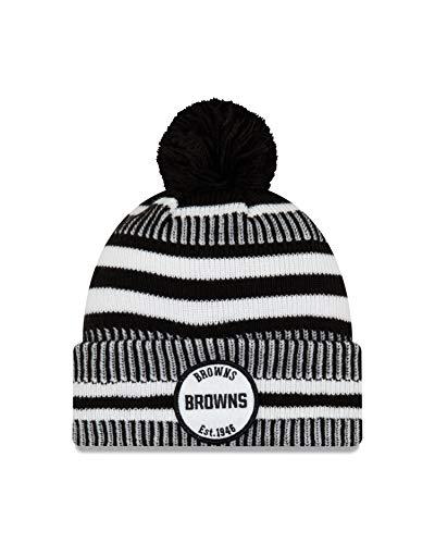 New Era New Era Cleveland Browns - Gorro de punto (talla única),...