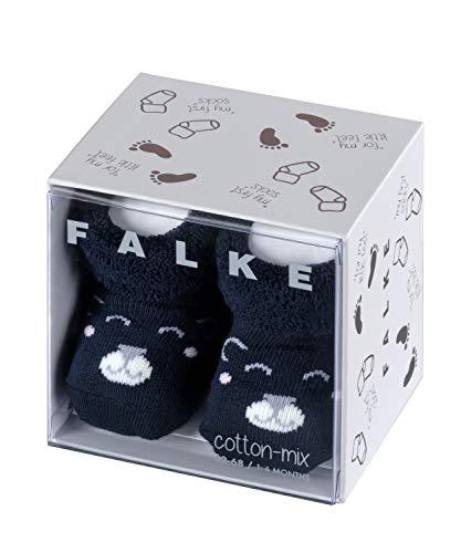 Falke Baby Bear Calcetines, Azul (Marine 6120), 50/56 (Talla del fabricante: 50-56) para Bebés