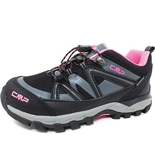 CMP Zapatillas Trail JR Shedir Low 39Q4854 Negro Size: 31 EU