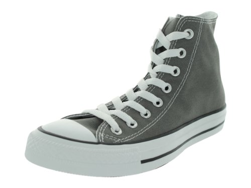 Converse Chuck Taylor All Star High Top, Zapatillas Mujer, Antracita, 39.5 EU