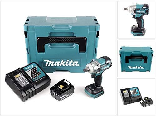 Makita DTW 285 RT1J Akku Schlagschrauber 18V 280Nm 1/2' Brushless + 1x Akku 5,0Ah + Ladegerät + Makpac