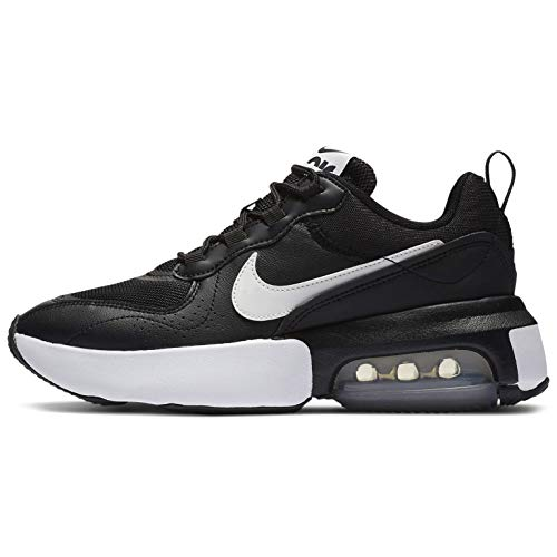 Nike W Air MAX Verona, Zapatillas para Correr Mujer, Black Summit White Anthracite Mtlc Silver, 44.5 EU