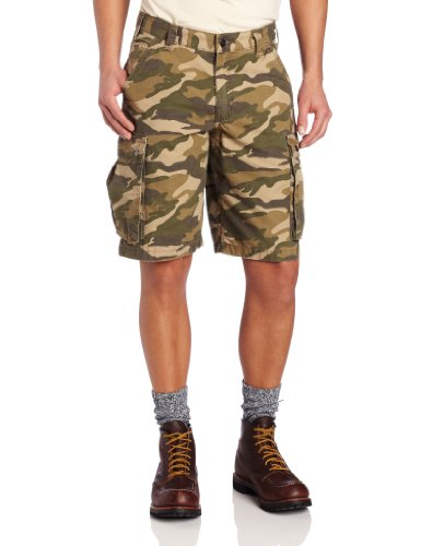 Carhartt .100279.294.S534 Rugged Cargo Short, Rugged Khaki Camouflage, W34