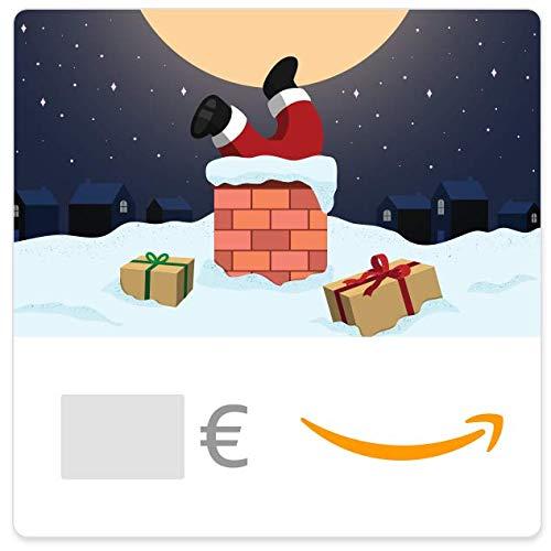 Buono Regalo Amazon.it - Digitale - Babbo Natale nel camino