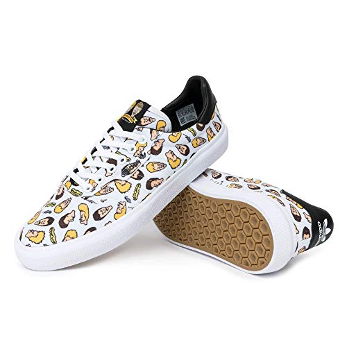 adidas Skateboarding 3MC x Beavis and Butthead, Footwear White-core Black-Footwear White, 10,5