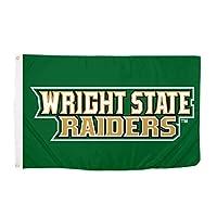 Desert Cactus Wright State University NCAA 100% Polyester Indoor Outdoor 3 feet x 5 feet Flag (Style 5a) [並行輸入品]