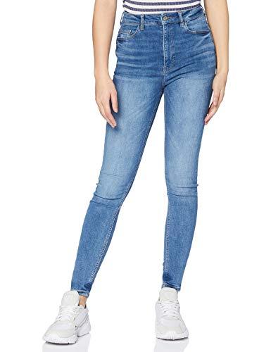 edc by ESPRIT Damen Denim Skinny Jeans, 902/BLUE MEDIUM WASH, 30W / 34L