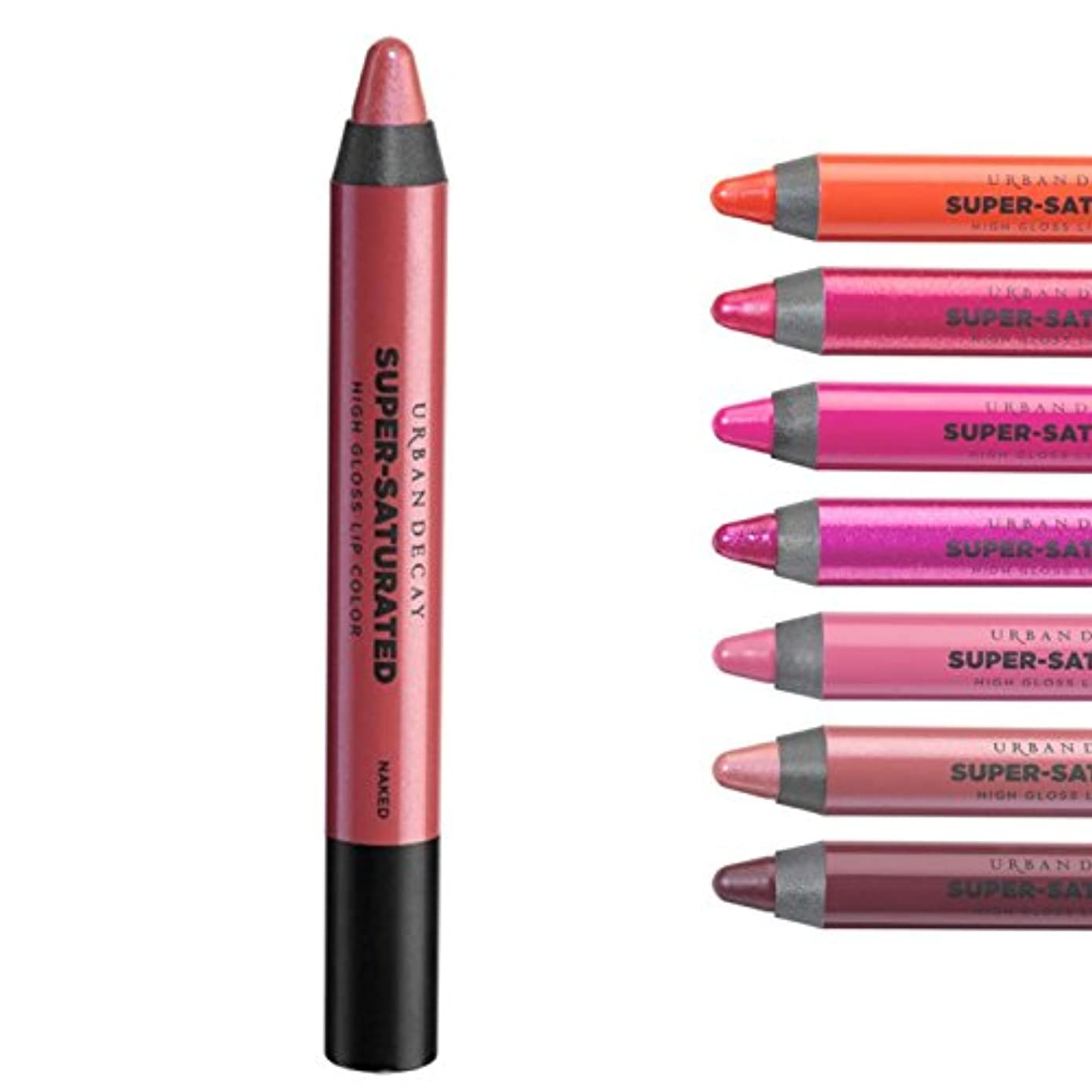 トリプルトランジスタクレジットUrban Decay, Super-Saturated High Glossリップカラー... Naked - nude pink sheen  [海外直送品] [並行輸入品]