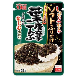丸美屋食品工業 ソフトふりかけ 葉唐辛子こんぶ 28g ×10個