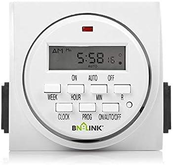 BN-Link 7 Day Heavy Duty Digital Programmable Timer