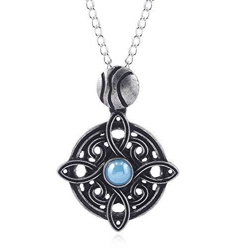 DTKJ Amulett Von Mara Halskette Skyrim Cosplay Halskette Oblivion Morrowind Amulett Anhänger Für Frauen Männer Charms Schmuck