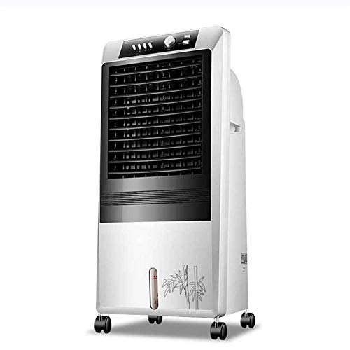 Lapden Enfriador de Aire portátil con 3 velocidades de Ventilador, Temporizador y oscilación automática Enfriador de Aire evaporativo de Alta Potencia, Condurecedor de Aire Elegante Un Solo