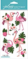 Jolee's Boutique Themed Embellishments 7/Pkg-Flamingo