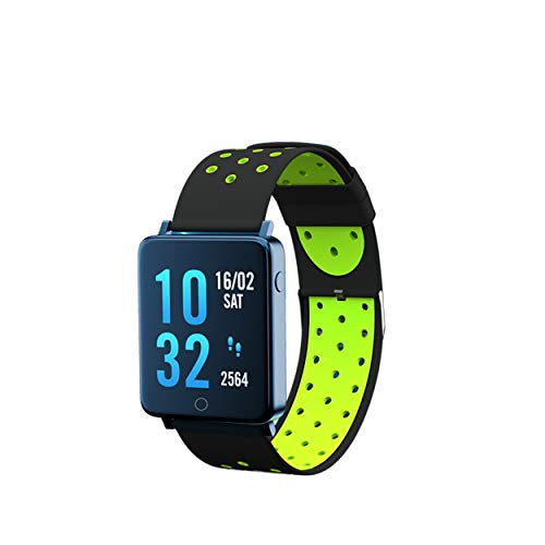 Toreto Bloom India's No. 1 Smart Watch, Upto 20 Days Battery Life, Color AMOLED Full-Touch Screen, Waterproof with Music Control and Unlimited Watch Faces(Tor-81)