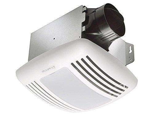 Delta Electronics GBR80L Breez Green Builder Fan/Light Combinations, 80 CFM Single Speed