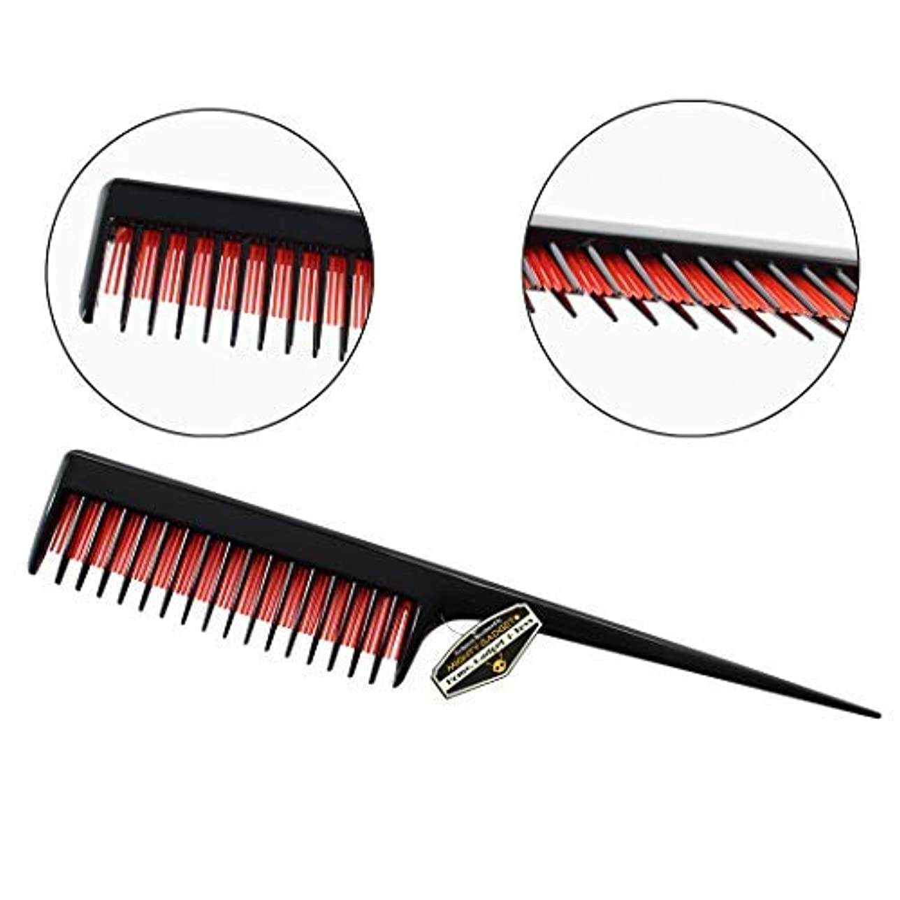 3 Pack of Mighty Gadget 8 inch Teasing Comb - Rat Tail Comb for Back Combing, Root Teasing, Adding Volume, Evening Styling for Thin, Fine and Normal Hair Types [並行輸入品]