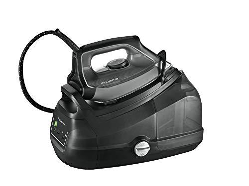 Rowenta Perfect Steam Pro DG8622 Centro de planchado de vapor, plástico, negro, gris
