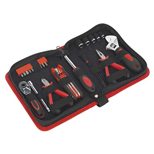 Sealey ms164motocicleta herramientas Underseat 28pc