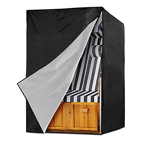 WYYUE Cubierta Impermeable para Columpio de Patio, Cubierta de Muebles de Patio Resistente a Los Rayos UV para Todo Tipo de Mal Tiempo y Condiciones de Viento Fuerte