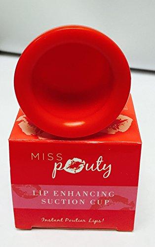 Miss Pouty Lip PLUMPING Enhancer Pumper Pump Up Your Lips Plump Pout Fuller dispositivo di aspirazione–Large