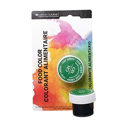 Lorann Oils Gel Food Coloring, 1/2-Ounce, Leaf Green by LorA