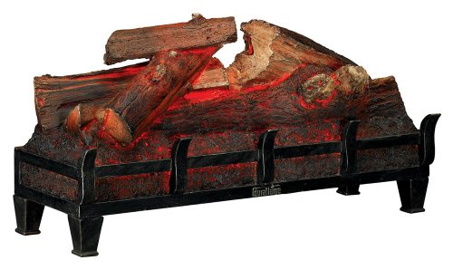 Duraflame knisternden Log Set in schwarz dfl001