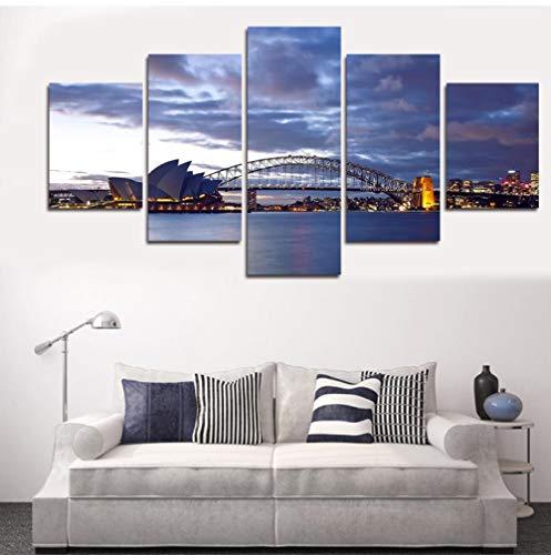 5 Aufeinanderfolgende Malerei Dekorative Tapete Wandmalerei Kunst Seascape Malerei Modern Home Wandkunst Leinwand Segelbilder Für Wandbehang Wandbilder Für Wohnzimmer Dekor