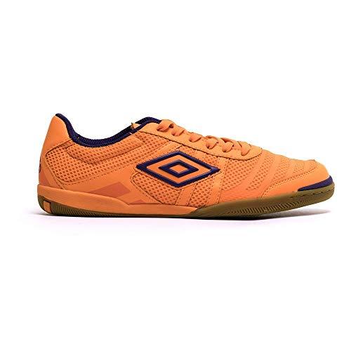 Umbro Futsal Tunder IC, Zapatilla de fútbol Sala, Orange Fluor, Talla 9.5 US (43 EU)