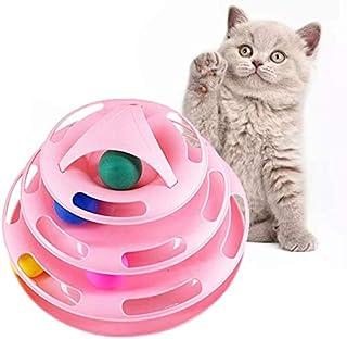 dise/ño de gato Juego de 17 pelotas de juguete para gatos 17 unidades Whaline