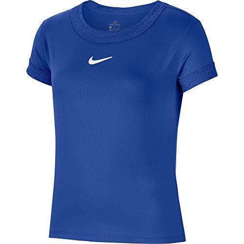 Nike Court Dry T-Shirt Girls Blue