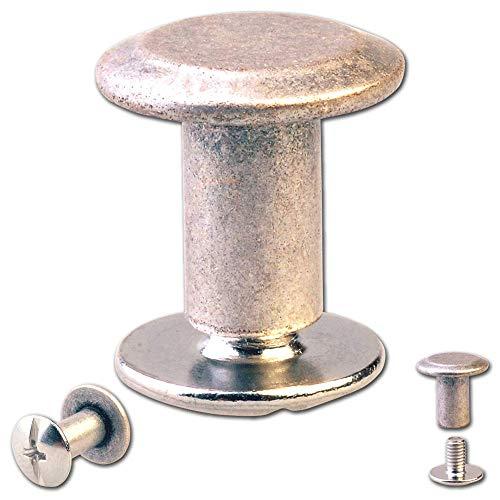 M10/x 90/mm Gartenwelt Riegelsberger Lot de 2/vis pour barre dancrage de 71/mm Pour fixation inf/érieure de barre en H en acier galvanis/é