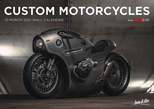 Bike EXIF Custom Motorcycle Calendar 2021